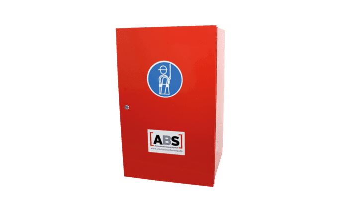 Image showing an ABS Care+ storage locker for personal fall arrest equipment