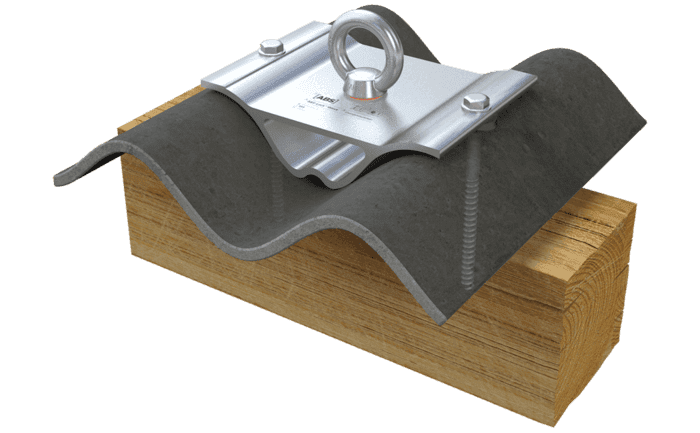 Image showing our ABS-Lock Wave anchor - specially-designed for corrugated roof surfaces