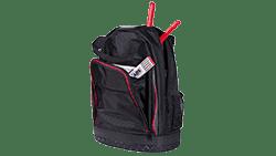 Foto eines Rucksacks mit speziellem Werkzeug für Absturzsicherungen