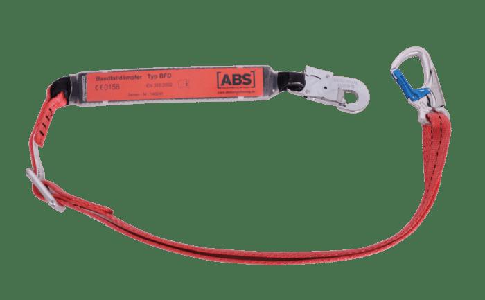 Bild eines Verbindungsmittels zum Schutz beim Absturz von der Hubarbeitsbühne.