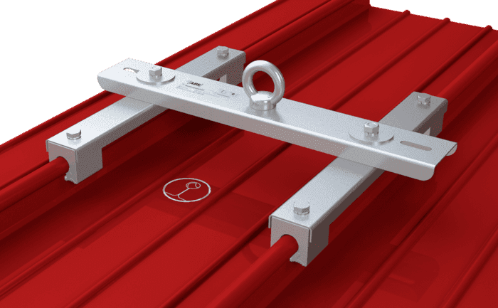 Image showing an anchorage solution for individuals - specially designed for metal rounded-edge seam roof surfaces
