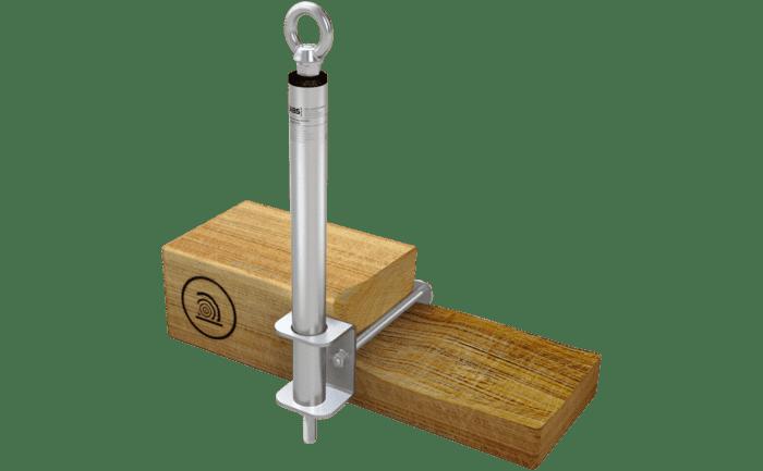 Grafik des Sekuranten ABS-Lock III-SEITL-SR in der Variante für Holzuntergründe.