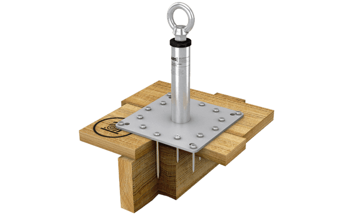 Illustration du point d'ancrage ABS-Lock X-H-14+2 avec douille de renfort