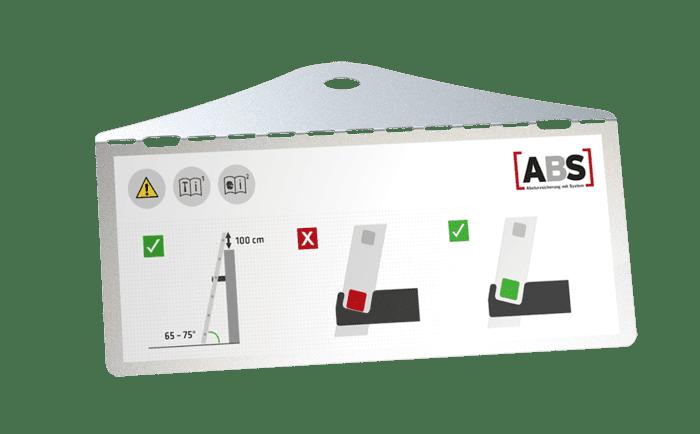 Product afbeelding van de ABS LaddWall systeemplaat