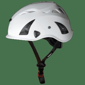 Illustration d'un casque de cordiste avec ventilation agréable