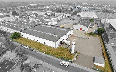Luchtfoto ABS Safety GmbH op de Gewerbering 11 in Kevelaer, Duitsland