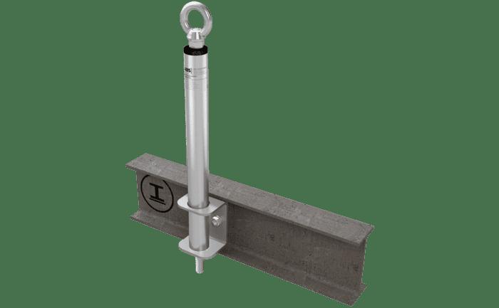 Foto van de ABS-Lock III-SEITL-SR als variant voor staalconstructies.